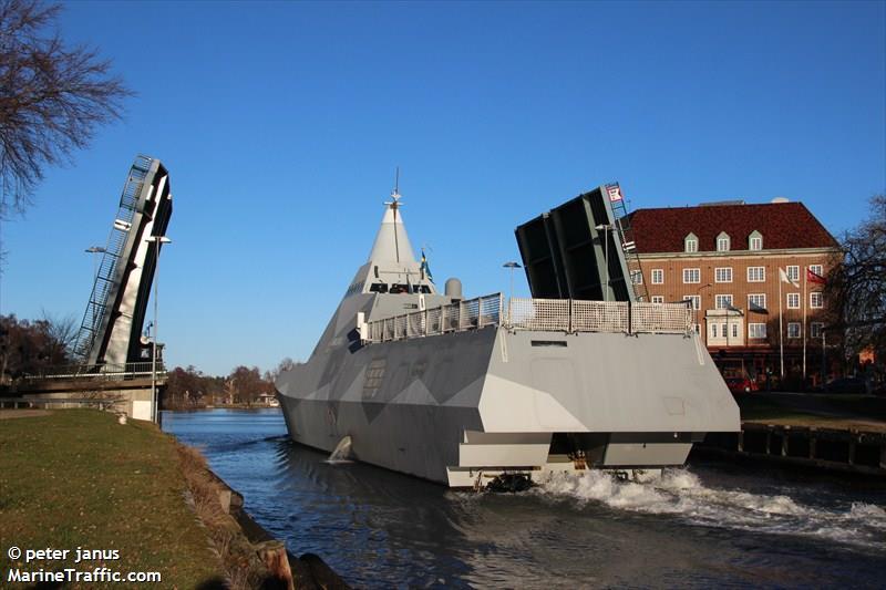 SWEDISH WARSHIP K35