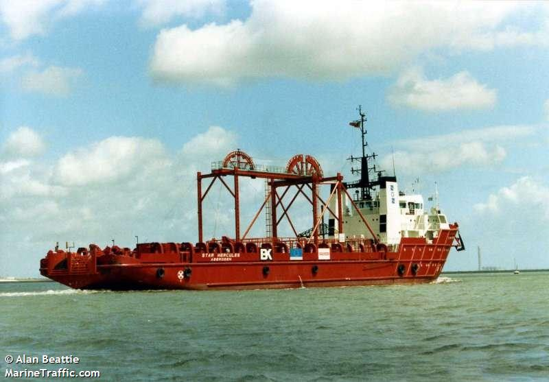 SARKU SANTUBONG, Offshore supply vessel, IMO 7803566
