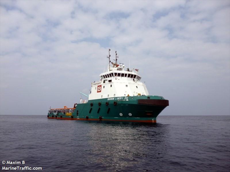 Le Bourbon Liberty 251 attaqué au large du Nigeria