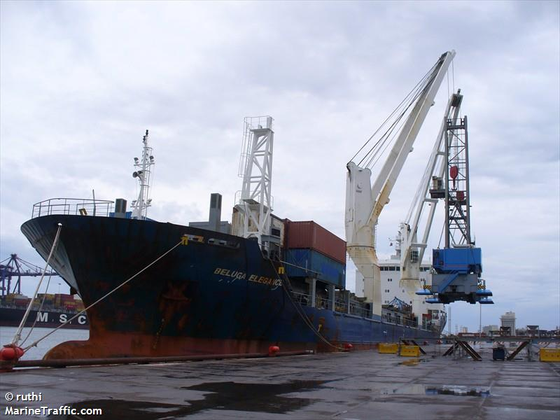 Vessel details for: CORCOVADO (General Cargo) - IMO 9260378, MMSI 725001204, Call Sign CBCK ...