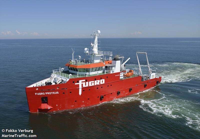 vessel details for fugro proteus research survey vessel imo 9675860 mmsi 311000238 call. Black Bedroom Furniture Sets. Home Design Ideas