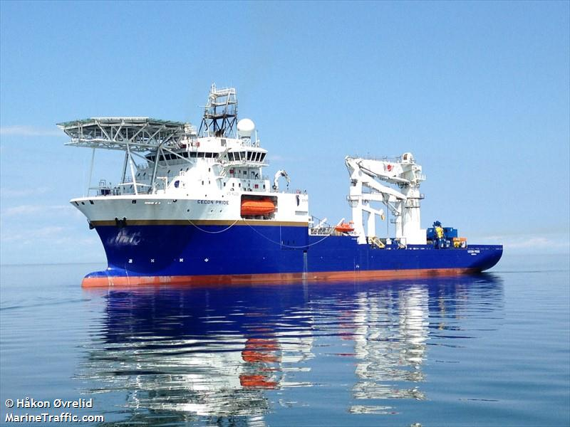 Vessel details for: PRIDE (Offshore Supply Ship) - IMO ...