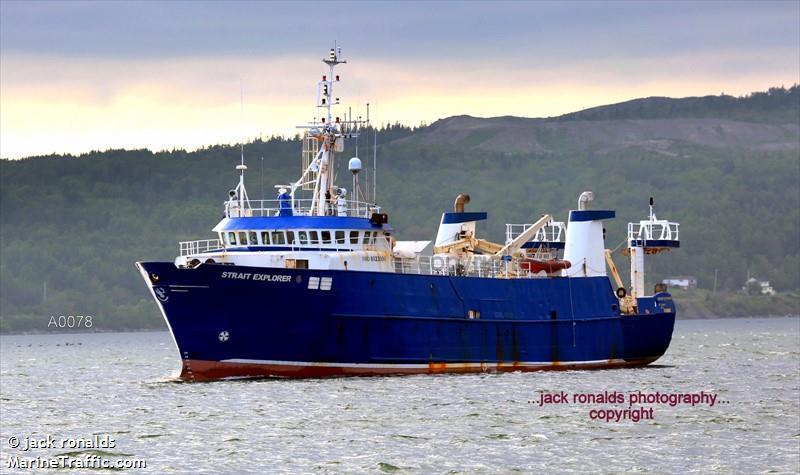 Vessel details for: STRAIT EXPLORER (Research/Survey ...