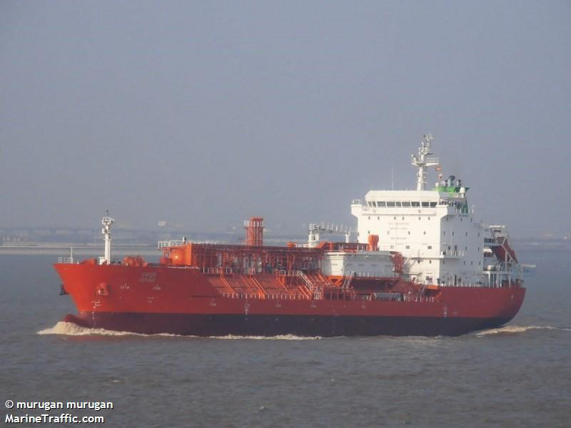 Vessel details for: MARIA III (LPG Tanker) - IMO 9615092