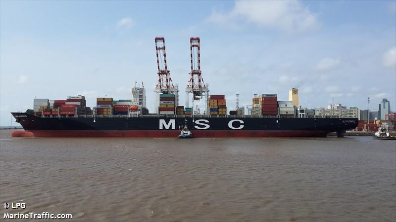 MSC AJACCIO - Container Ship: current position and details ...