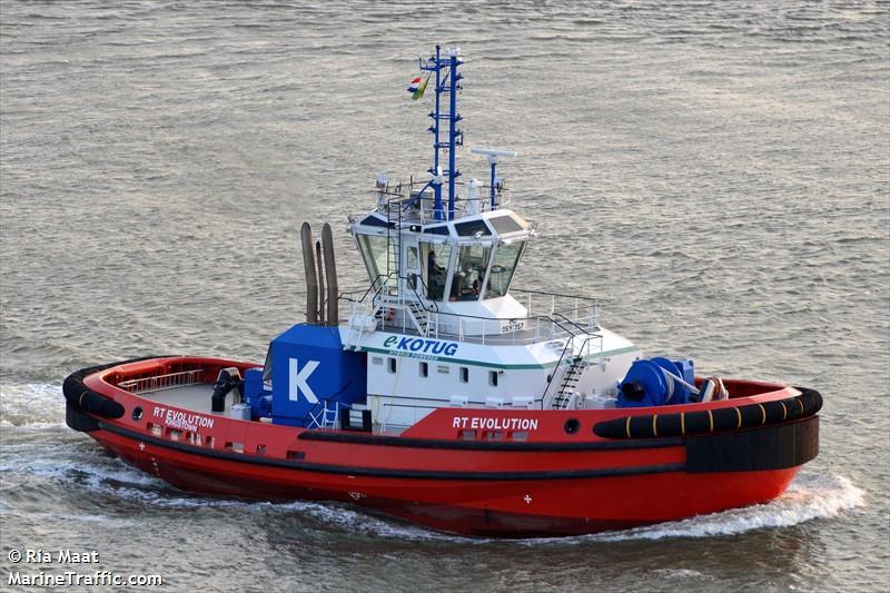 Vessel details for: RT EVOLUTION (Tug) - IMO 9691357, MMSI ...