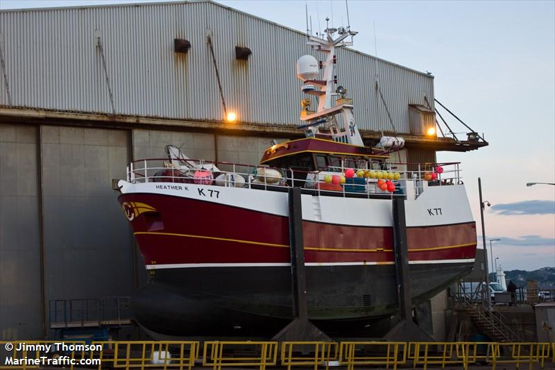 Picture of HEATHER K | AIS Marine Traffic