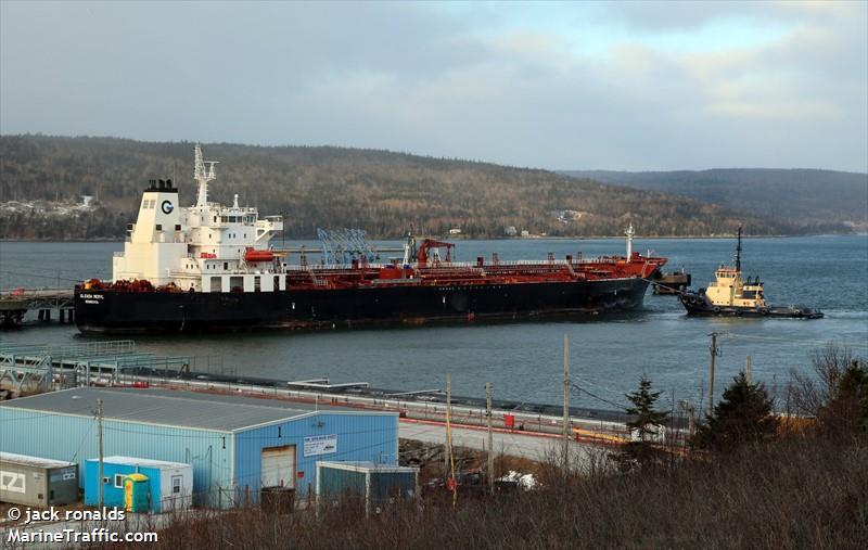 Vessel Details For Glenda Meryl Oil Chemical Tanker