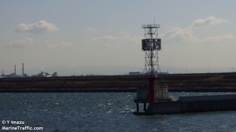 Nagoya Middle Tidal Breakwater West End
