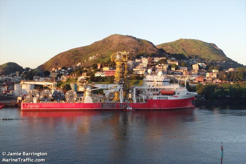 Vessel Details For Top Estrela Do Mar Pipe Layer Imo