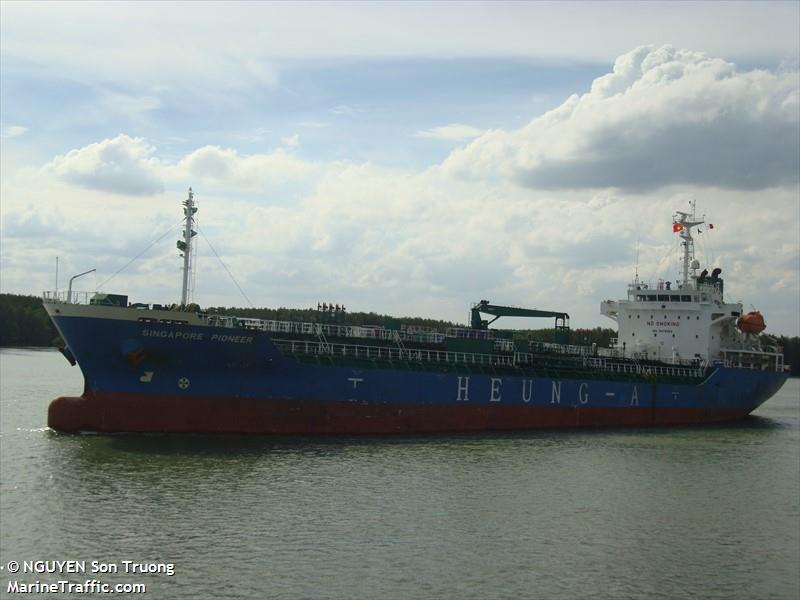 SINGAPORE PIONEER, Chemical/Oil tanker, IMO 9478262 | Vessel details