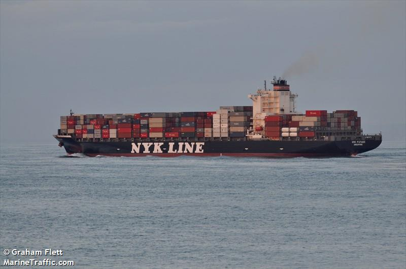 NYK FUTAGO, Container ship, IMO 9487524 | Vessel details