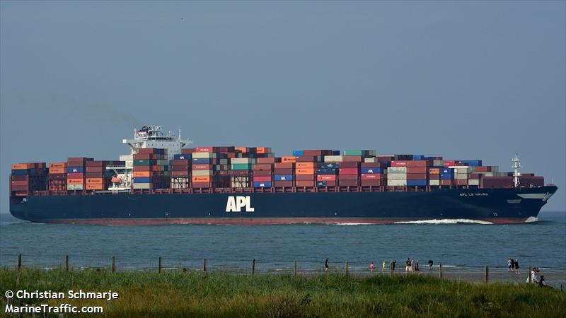 vessel details for apl le havre container ship imo 9461881 mmsi 566407000 call sign. Black Bedroom Furniture Sets. Home Design Ideas