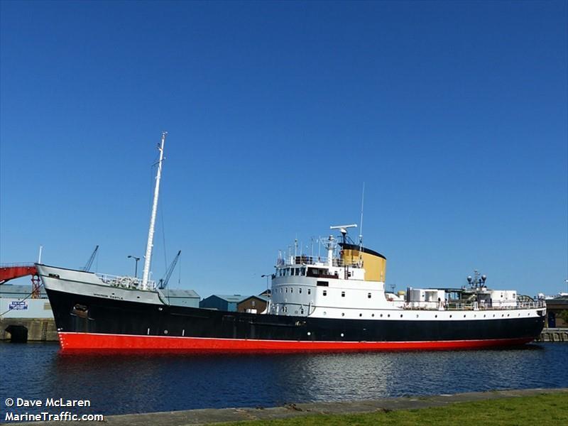 Vessel details for: WINDSOR CASTLE (Tender) - IMO 5419957, MMSI -5419957, Call Sign Registered ...