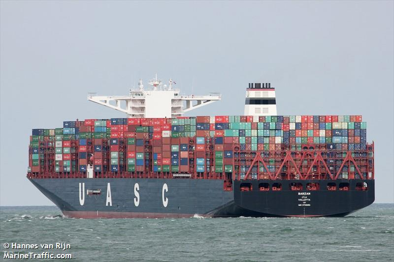 Vessel details for: BARZAN (Container Ship) - IMO 9708851 ...