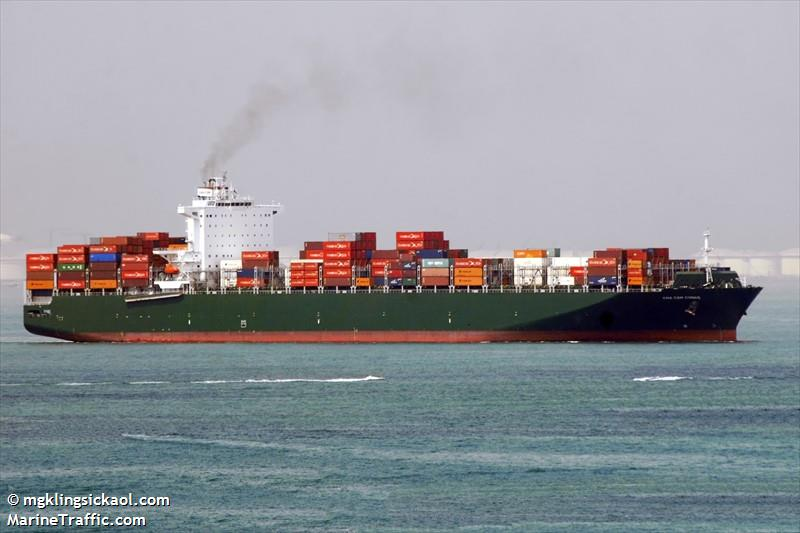 Vessel details for: CMA CGM CONGO (Container Ship) - IMO ...