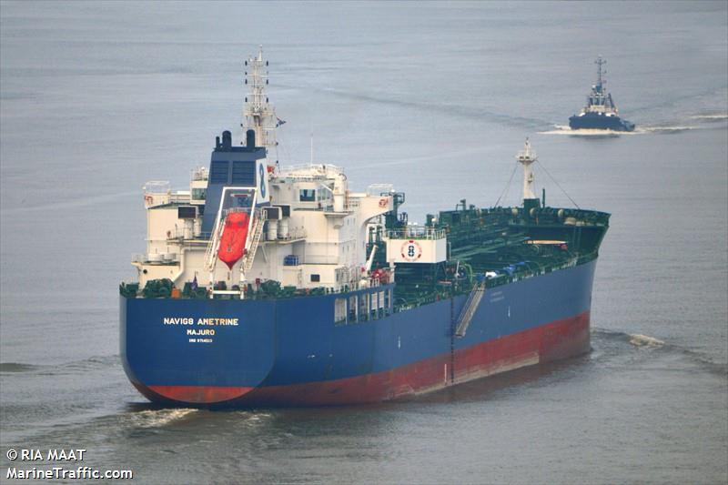 Vessel Details For Navig8 Ametrine Oil Chemical Tanker