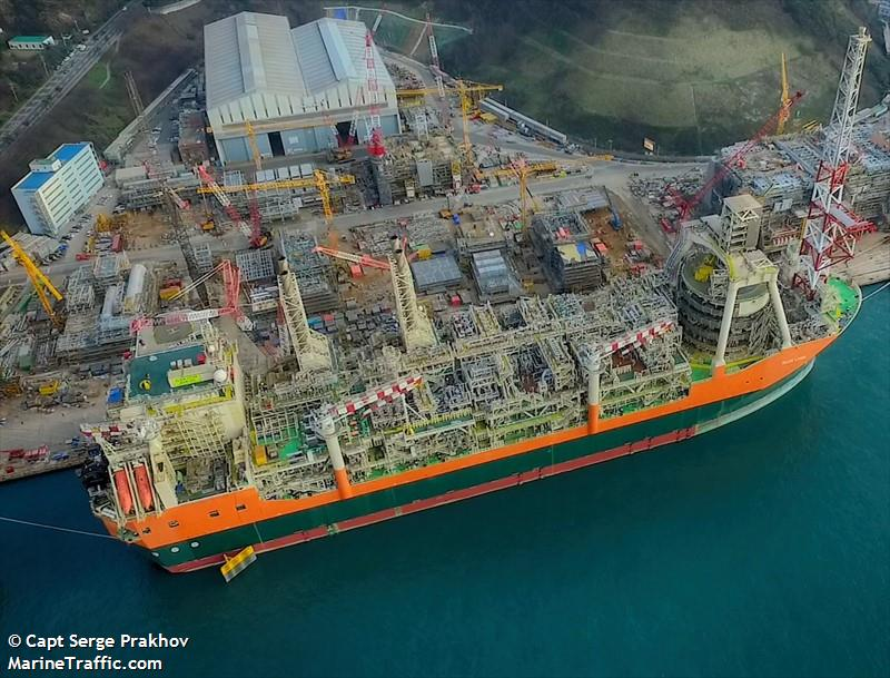 Vessel Details For Glen Lyon Floating Storage Production