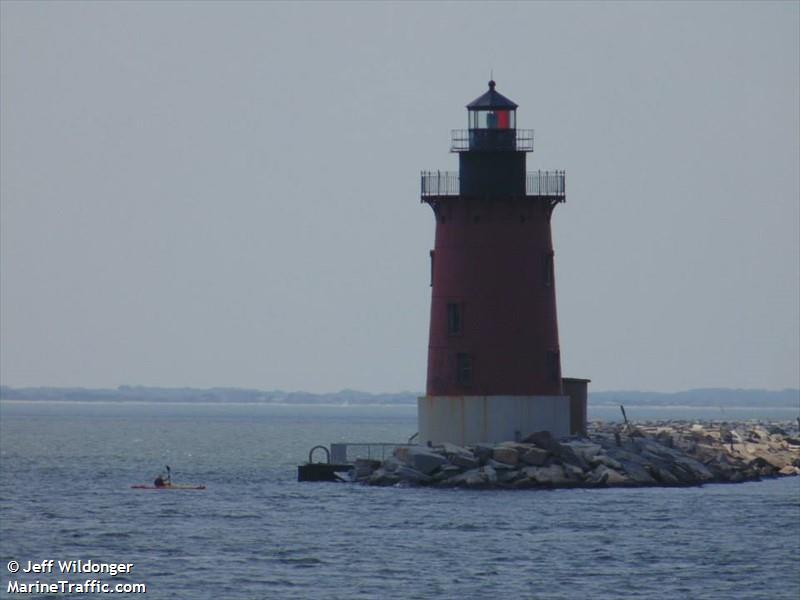 Delaware Breakwater Range Rear