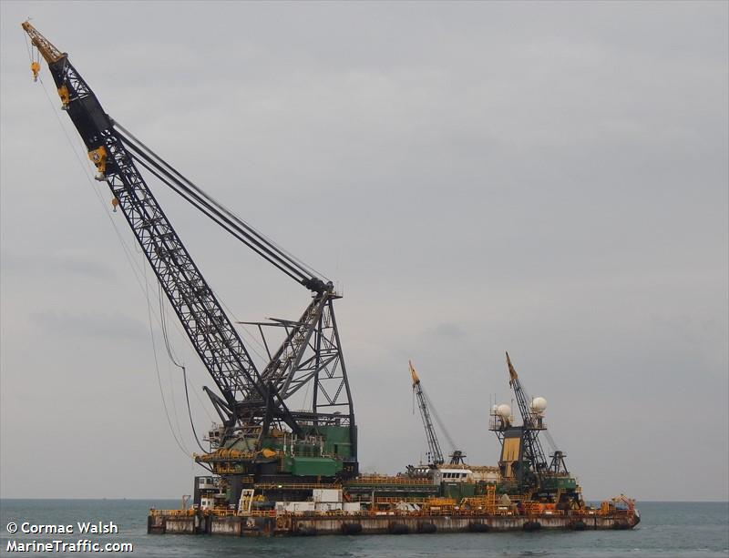 MCDERMOTT DERRICK BARGE NO 27, Barge, IMO 8757685   Vessel details