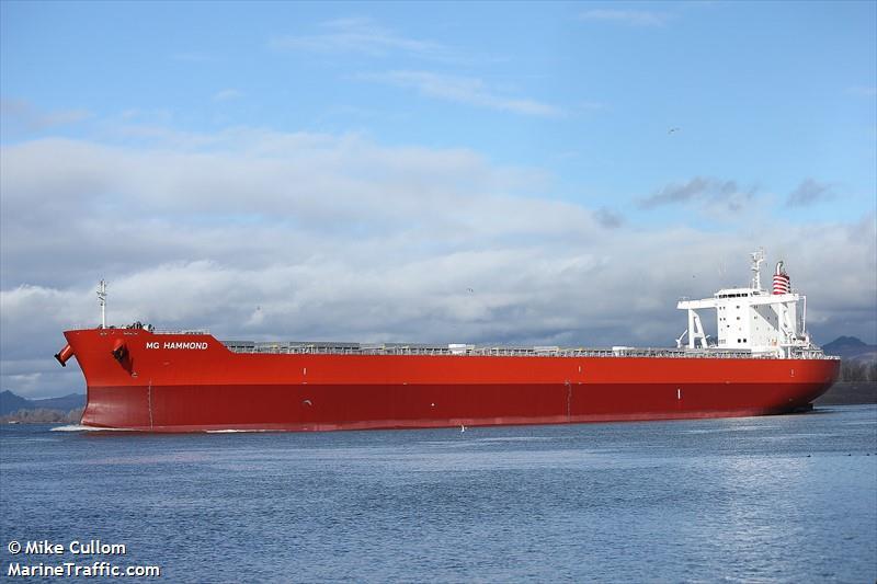 Picture of MG HAMMOND   AIS Marine Traffic