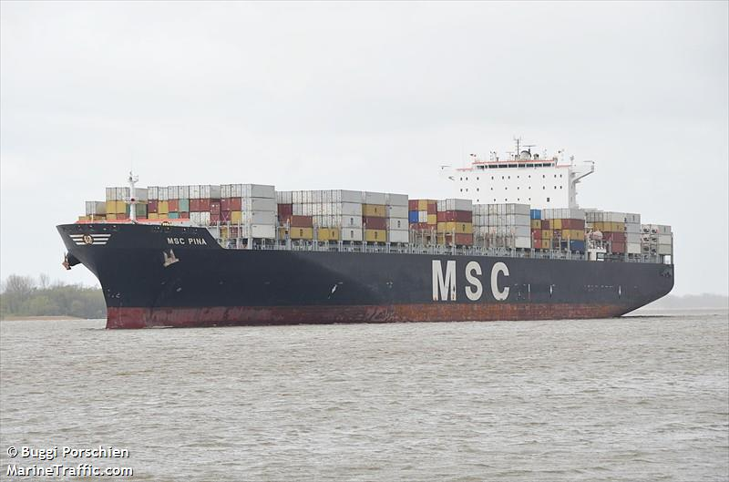 MSC PINA, Container ship, IMO 9339272 | Vessel details