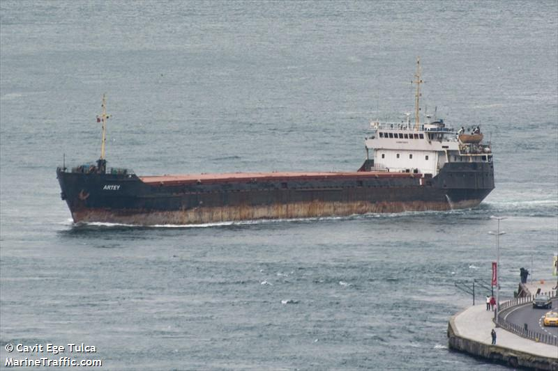 picture of artey ais marine traffic