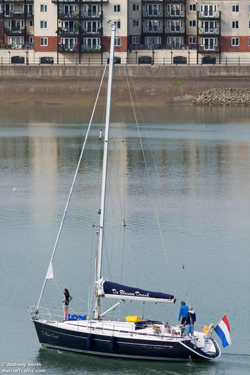 De Blauwe Draak.Vessel Details For De Blauwe Draak Sailing Vessel Mmsi
