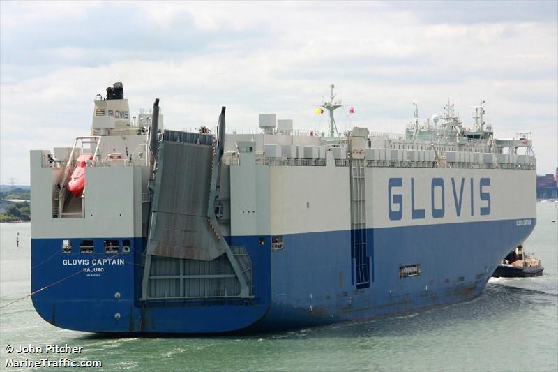 Imagen de GLOVIS CAPTAIN | AIS Marine Traffic