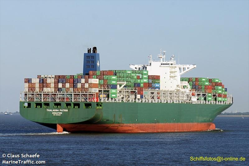 Vessel details for: THALASSA PATRIS (Container Ship) - IMO ...