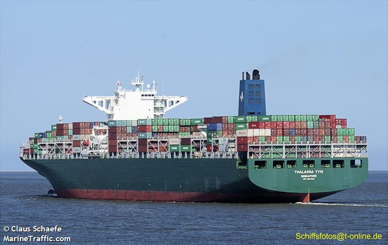 Vessel details for: THALASSA TYHI (Container Ship) - IMO ...
