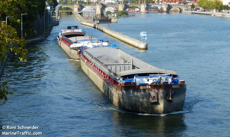 Vessel Details For Trias Obelix Inland Motor Freighter