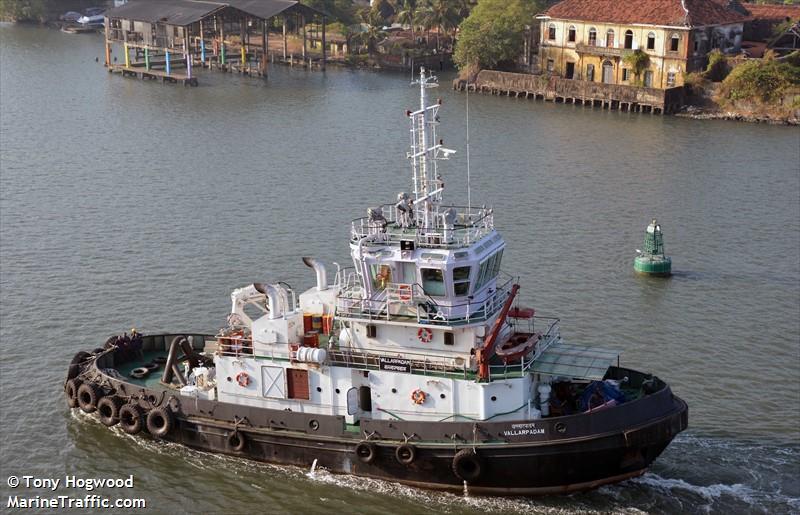 VALLARPADAM, Tug boat, IMO 9444754 | Vessel details | BalticShipping com