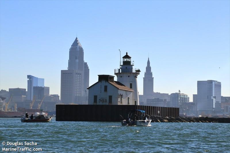 Cleveland Harbor Main Entrance