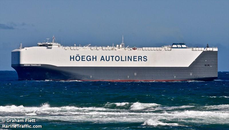 Vessel details for: HOEGH TRAVELLER (Vehicles Carrier) - IMO
