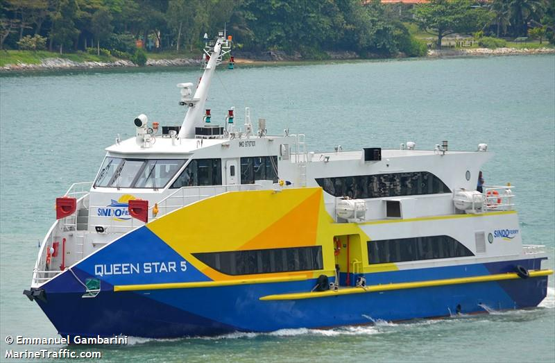 Vessel details for: QUEEN STAR 5 (High Speed Craft) - IMO 9797101