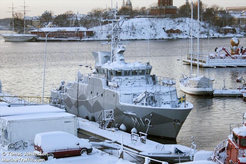 SWEDISH WARSHIP M12