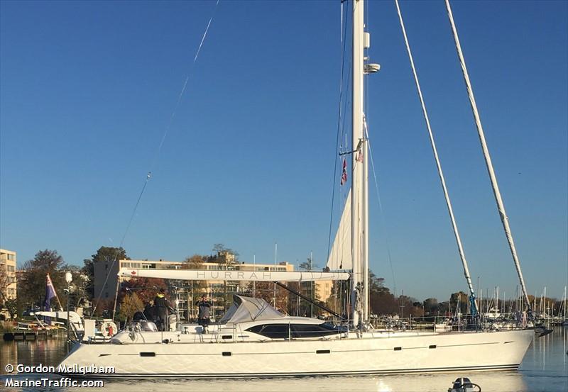 Vessel details for: HURRAH (Sailing Vessel) - MMSI ...