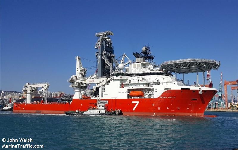 Vessel details for: SEVEN ARCTIC (Pipe Layer) - IMO ...