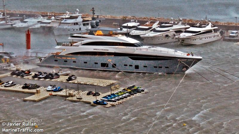 Imperial Princess Beatrice Yacht Imo 9694012 Vessel Details
