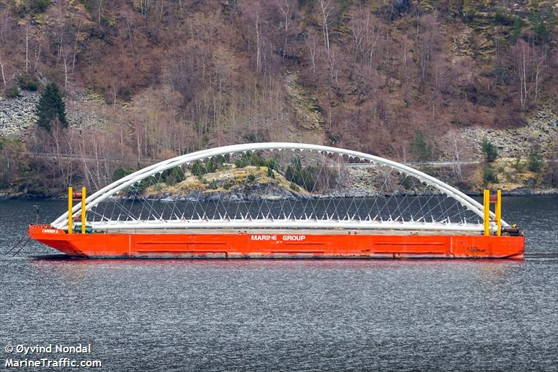 CARRIER 8, Barge, IMO 8636960 | Vessel details | BalticShipping com
