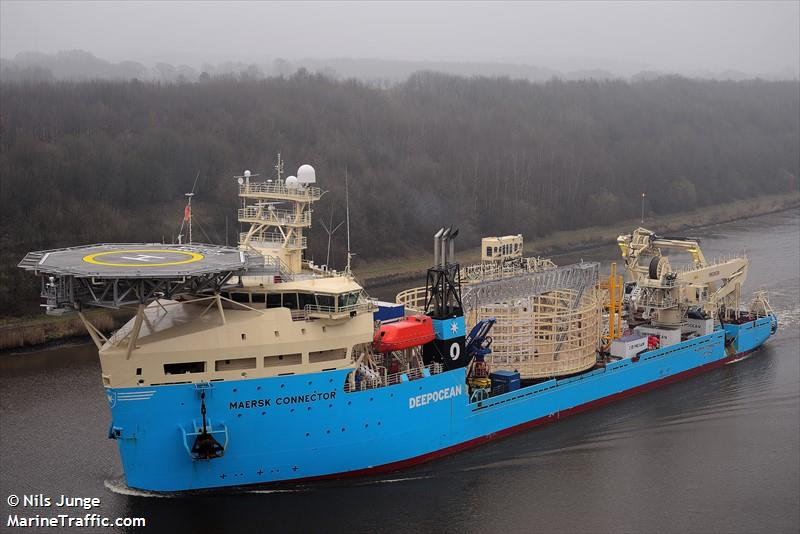 Vessel details for: MAERSK CONNECTOR (Cable Layer) - IMO ...
