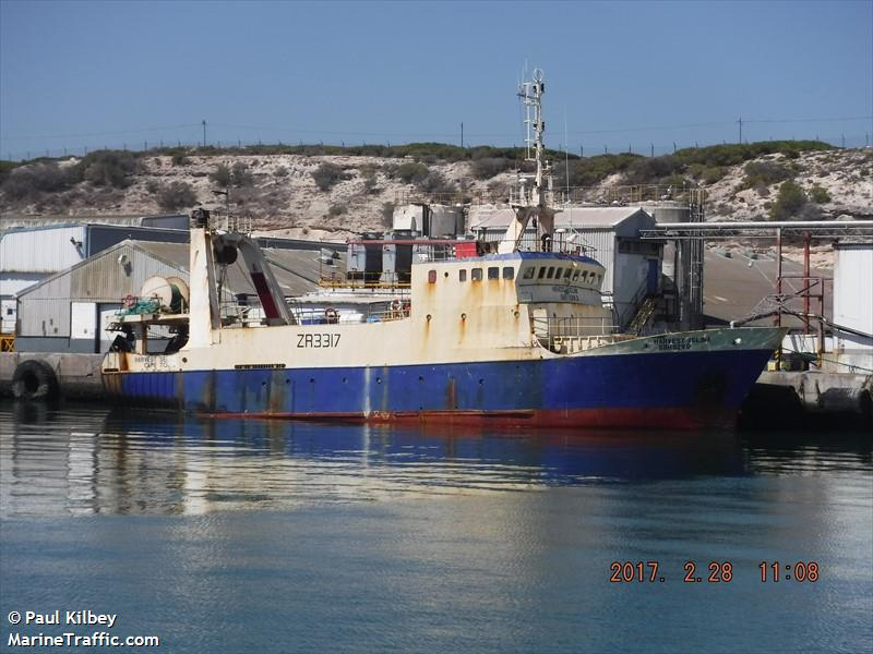 Vessel details for: HARVEST SELINA (Trawler) - IMO 8509765 ...