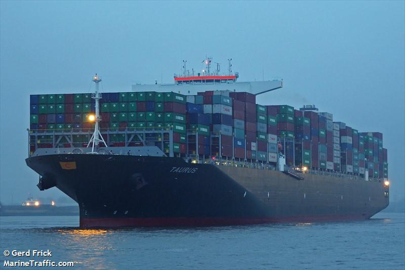 TAURUS, Container ship, IMO 9728942 | Vessel details