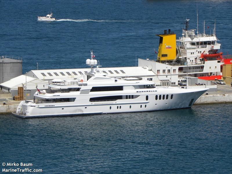 Vessel Details For Bacarella Yacht Imo 9559755 Mmsi 319893000 Call Sign Zgac9 Registered