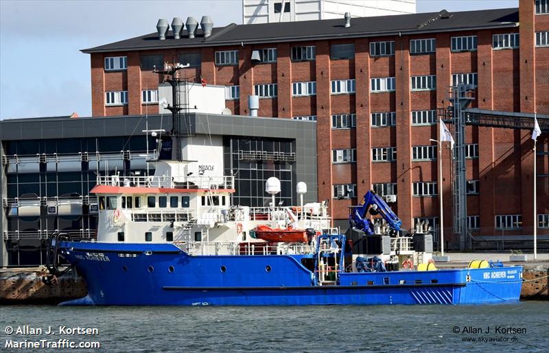 HBC ACHIEVER, DSV (diving support), IMO 9647978   Vessel details
