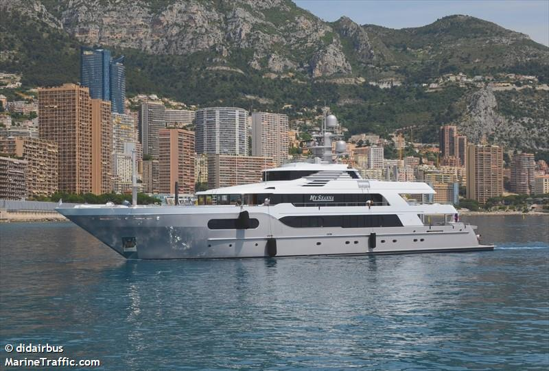 MY SEANNA, Yacht, IMO 9024152 | Vessel details