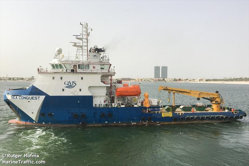 SEA CONQUEST, Offshore supply vessel, IMO 9690963 | Vessel details