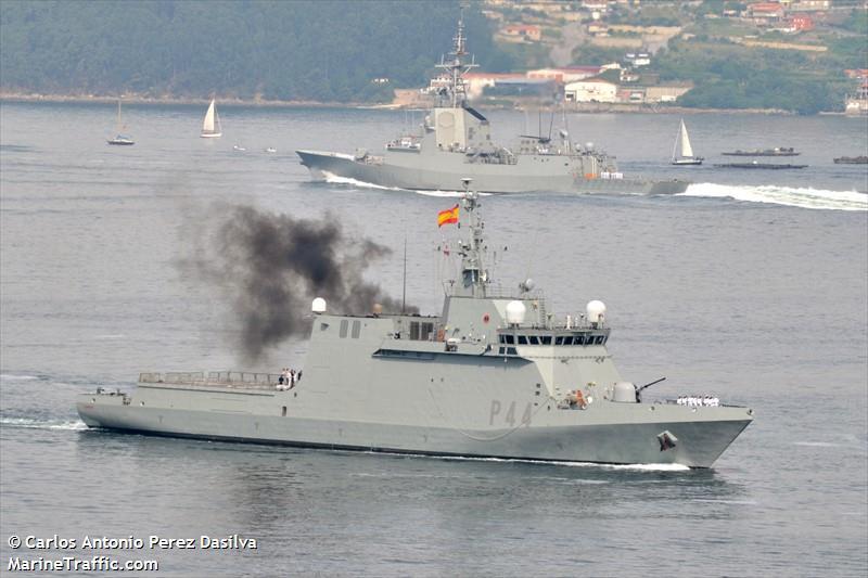 P44 SPANISH WARSHIP