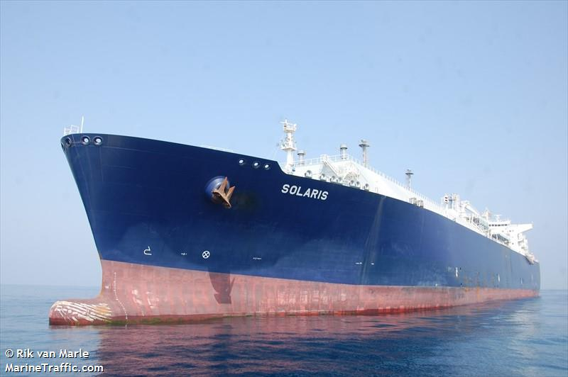 Vessel details for: SOLARIS (LNG Tanker) - IMO 9634098 ...